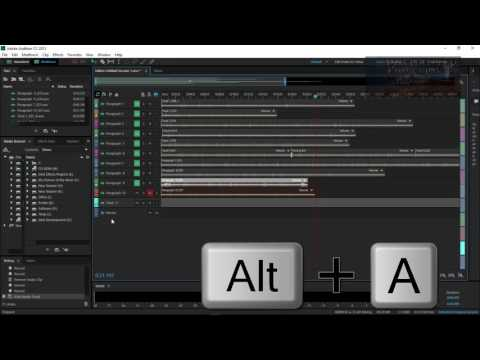 Adobe Audition CC - How to add additional track layers to your project