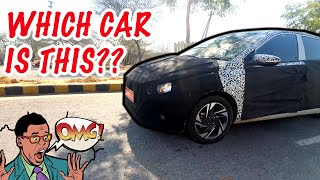 TEST CAR SPOTTED early morning on Delhi roads ! 😱😍Hatchback car - Hyundai, Maruti Suzuki or Kia?