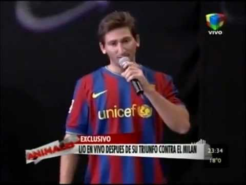 Ver video del doble de Messi