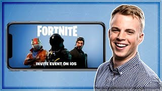 FORTNITE MOBILE ANNOUNCED! Spicy Xbow Gameplay