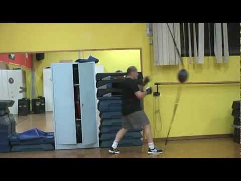 Workout in Jeet Kune Do to Punch Ball Image 1