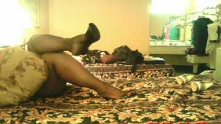 Just chillin in pantyhose. 2