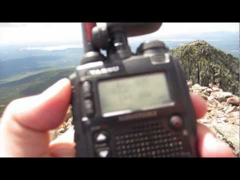 2012 AT GP KATHDN-15 Station - Katahdin, Knife Edge, APRS, SOTA