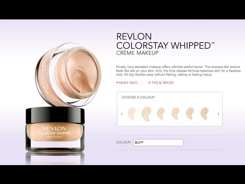 Review: Revlon Colourstay Whipped Creme Foundation
