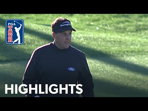 Phil Mickelson's winning highlights from The American Express 2004