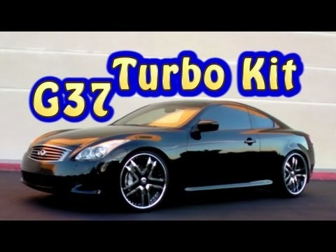 G37S Infinity Twin Turbo and Suspension Kit installed.  Fast and Loud!  Nelson Racing Engines.