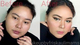 gendut tidak bisa tampil cantik ? SIAPA BILANG?! || #makeupbyfriskaulimams