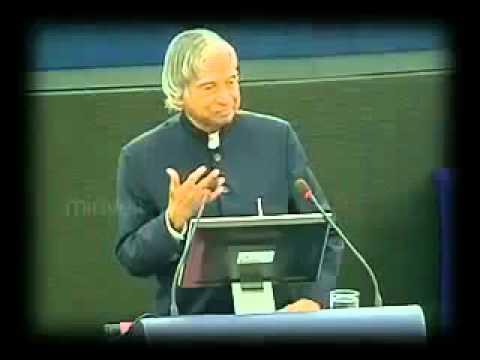 abdul kalams superb speech in european parliament...