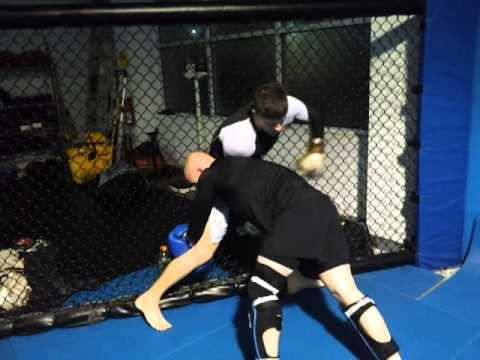 Tory and Grant MMA Sparring Image 1