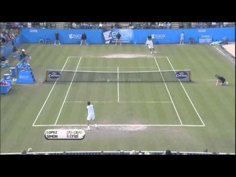 Feliciano Lopez Triumphs In Eastbourne Final Highlights