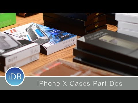 Epic iPhone X Case Roundup Part 2: Element Case, Lifeproof, Mujjo, & More