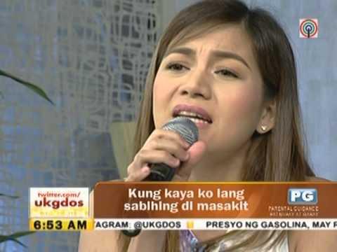 Kyla sings Dito Na Lang on UKG