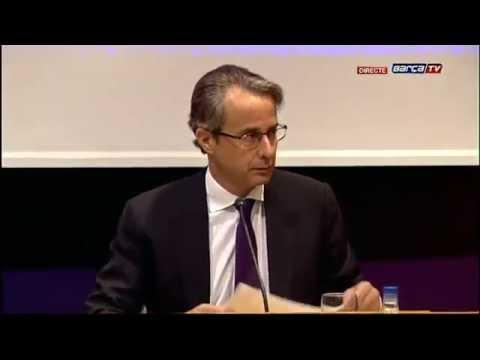 Javier Faus pasa balance económico de la temporada 2013/14