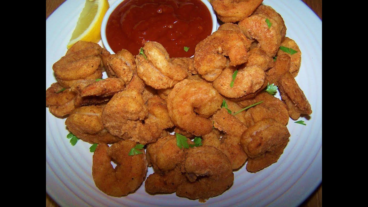 Oven Fried Popcorn Shrimp - Gluten Free - YouTube