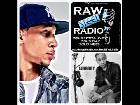 RAW STEEL Radio Talks with R&B Singer/Songwriter, Emanny