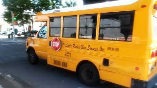 Ford Minotour School Bus SQ717 is on task