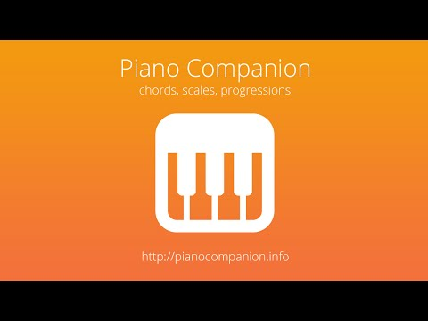 Piano Chord, Scale, Progression Companion APK Cover