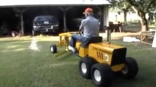Dads homemade road grader