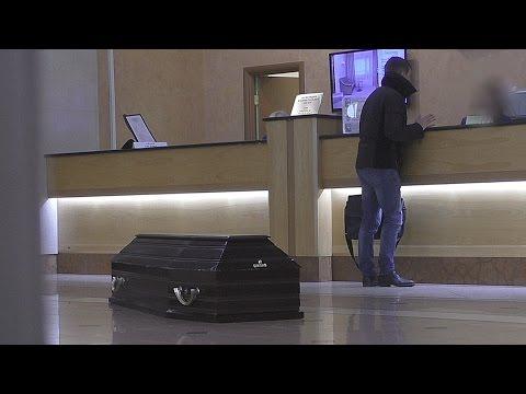 Гроб в отеле - ПРАНК \ Halloween prank
