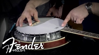 How to Place & Install a Banjo Bridge | Fender