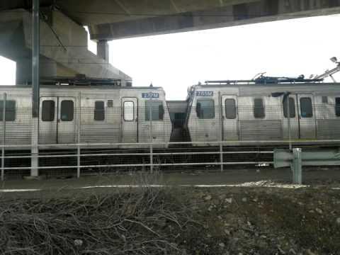 The Hitachi trains of melbourne