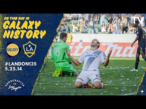 Landon Donovan broke the all-time goal scoring record in MLS | May 25th, 2014