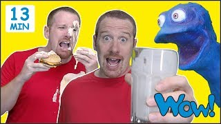 Food Story Magic for Kids from Steve and Maggie | English Speaking with Wow English TV