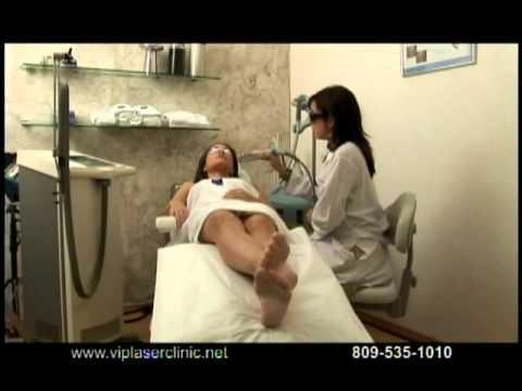 Massiel Taveras, Miss Dominican Republic 2007, spot for VIP laser clinic, Santo Domingo.