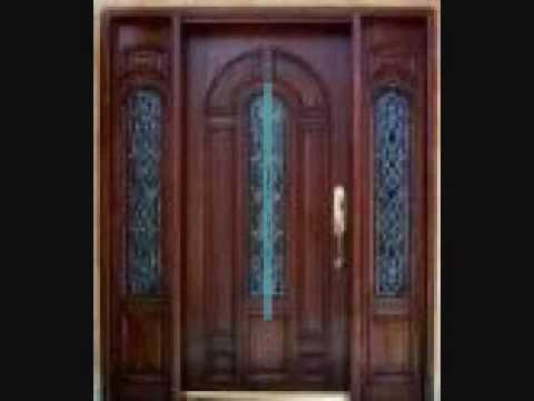 Puertas modernas youtube for Fotos de puertas metalicas modernas