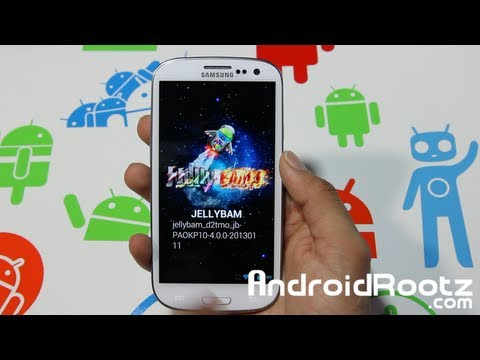 JellyBam ROM Review for Galaxy S3! i9300/T-Mobile