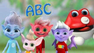 Official Trolls ABC Song | Animated Adventure for Kids 💥  2017 Baby Songs