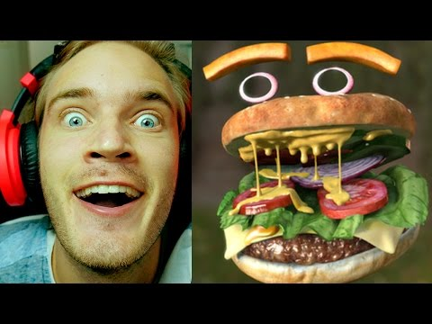 FaceRig - What If You Were A Hamburger?