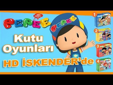 Pepee'li Teknoloji Kutu Oyunları HD İskender Çocuk Menüleriyle Hediye ! - Düşyeri