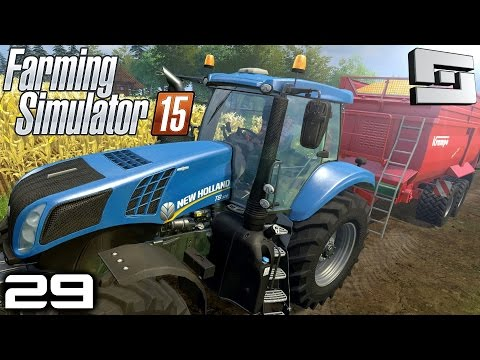 Farming Simulator 2015 : SEMI TRUCK MODS! ( Gameplay ) E29
