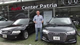 Audi A4 20 años después. La evolución de la industria automotriz