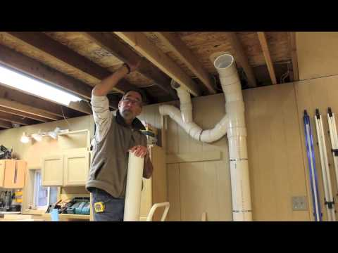 Dust Collector - Piping Up The Ductwork