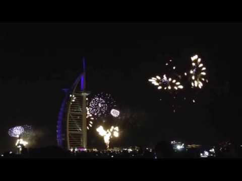New Year's Eve at Burj Al Arab, Hello 2014! ♥️