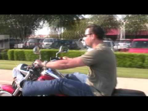 We're riding (Yamaha Raider) in America ! With Rammstein music Video