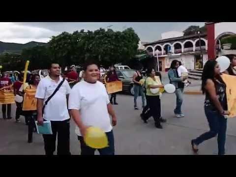 Peregrinación de los jovenes Fiestas Patronales en Zacoalco