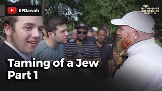 Video: Muslim Spain protected Jews from extinction for 800 years - Hamza Myatt vs Jewish William