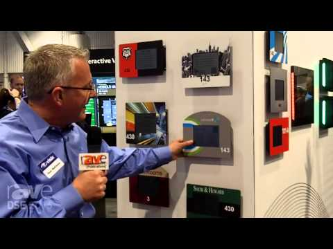 DSE 2015: VISIX Talks About Its E-Paper Room Signs That Run Wirelessly on AAA Batteries