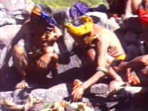Igorot tribal feast, Philippines