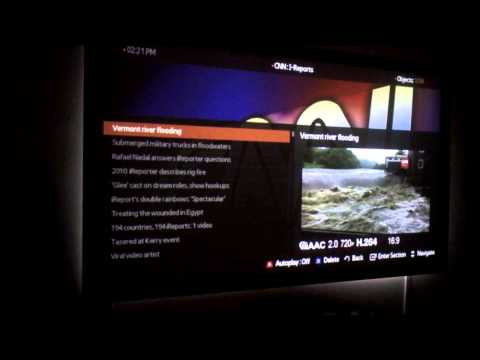 Samsung SmartHUB with PLEX App