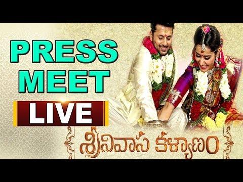 Srinivasa Kalyanam Press Meet | Nithiin | Raashi Khanna | Satish Vegesna | Live