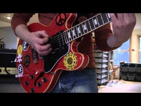 1959 Gibson Alvin Lee ES-335 BIG RED 2005 www.eddievegas.com Eddie Vegas