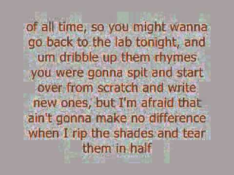 No Love (Eminem ft. Lil Wayne) Clean Version With Lyrics