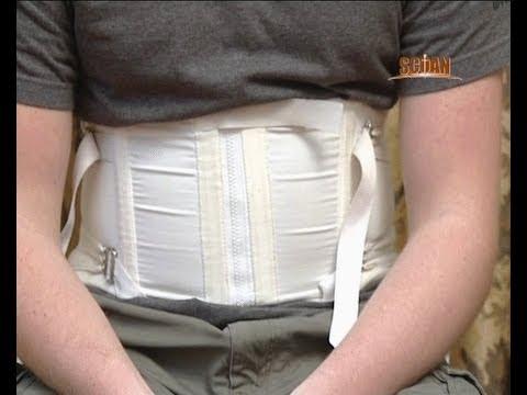 Les exercices pour le dos à la hernie du service cervical de lépine dorsale