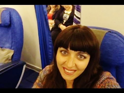 Premium Economy British Airways. Boeing 767. Flight Moscow from London! 2013