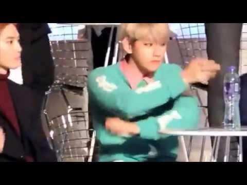151203 EXO Baekhyun Dancing to Bang Bang Bang   MAMA 2015