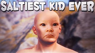 SALTIEST KID EVER! - Rust Funny Moments
